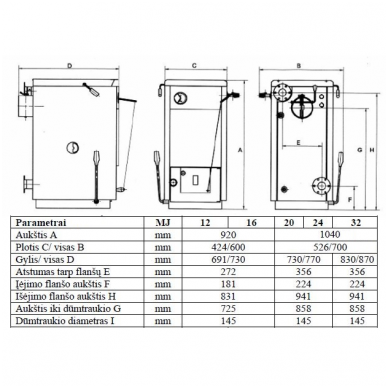 Bosch Solid 2000 B SFU 24 HNS kieto kuro katilas 3