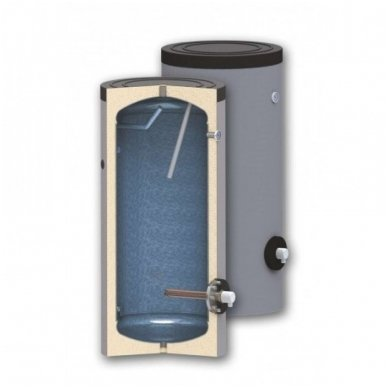 Elektrinis vandens šildytuvas SunSystem SEL 200