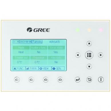 Gree Versati II+ CQ8 šilumos siurblys 2