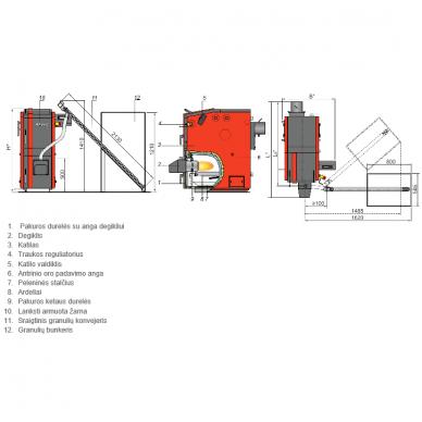 Kalvis K-2-30 DG universalus katilas 2