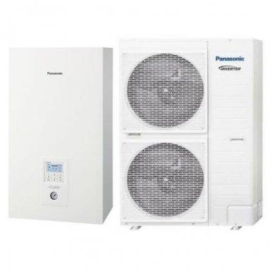 Panasonic Aquarea Bi-bloc WH-SDC09H3E8 WH-UD09HE8 9kW šilumos siurblys