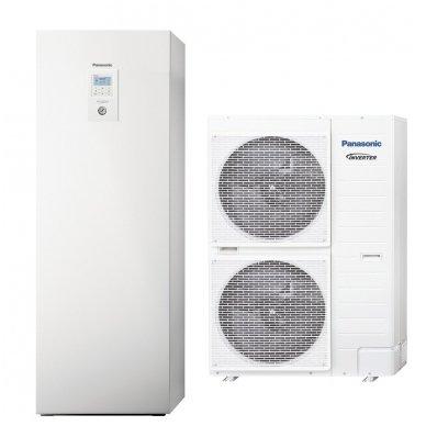 """Panasonic Aquarea šilumos siurblys oras-vanduo 12kW """"viskas viename"""" T-CAP išlaiko galią, su integruotu boileriu WH-ADC0916H9E8 WH-UX12HE8"""