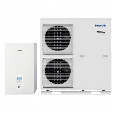 Panasonic Aquarea Bi-bloc T-CAP WH-SQC12H3E8 WH-UQ12HE8 12kW super tylus šilumos siurblys