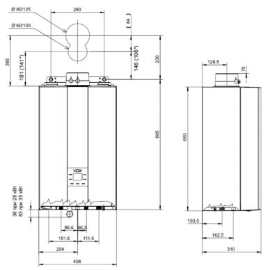 Wolf FGB-K-28 dujinis kondensacinis katilas 2