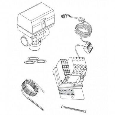 ALFEA modeliams skirtas vandens šildytuvo prijungimo komplektas
