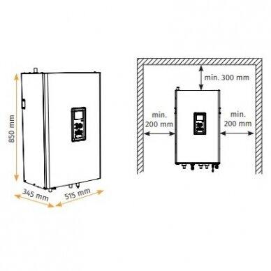 Alpha Innotec L6 Split - HM6 / 4-6kW be boilerio 2