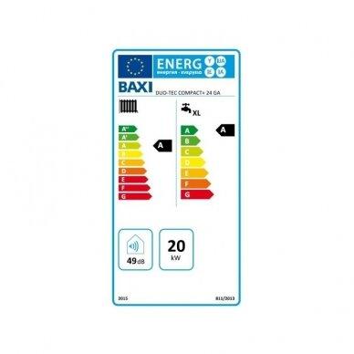 BAXI DUO-TEC COMPACT E 24 GA  dujinis kondensacinis katilas 4