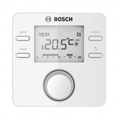 BOSCH  CW 100 nuo lauko temperatūros valdomas reguliatorius su lauko jutikliu