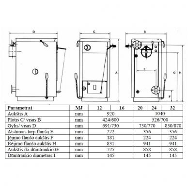 Bosch Solid 2000 B SFU 12 HNS kieto kuro katilas 3