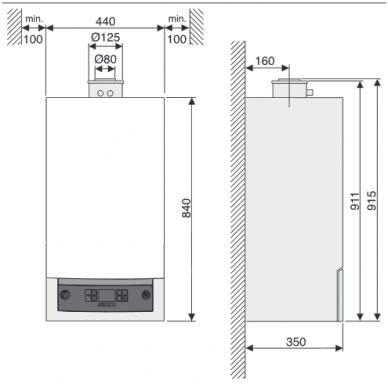 Buderus Logamax Plus GB072-24 V2 dujinis kondensacinis katilas 2