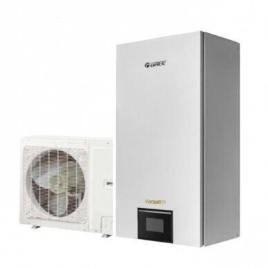 GREE VERSATI III 4,0/3,8 kW oras - vanduo šilumos siurblys