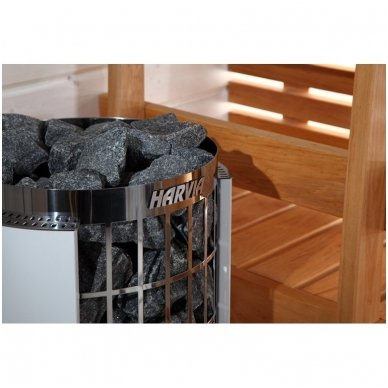HARVIA CILINDRO PC90 9 kW elektrinė krosnelė pirčiai 2
