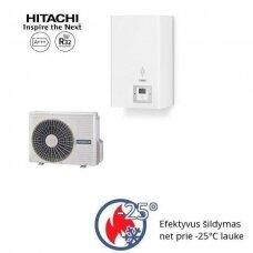 HITACHI YUTAKI S 8 kW be talpos vienfazis šilumos siurblys
