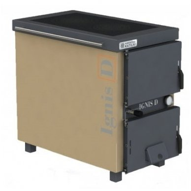 Ignis D 15 kW katilas - viryklė