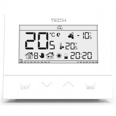 Kambario termostatas Tech 4