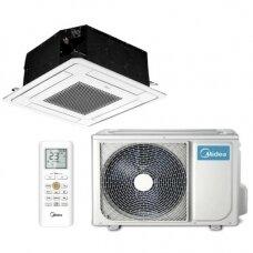 MIDEA MULTISPLIT oro kondicionierius su kasetiniu vidiniu bloku 2-iems kambariams (su pasirinkimais)