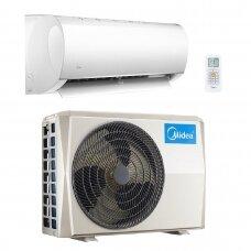 MIDEA MULTISPLIT oro kondicionierius su sieniniu vidiniu bloku 4-iems kambariams (su pasirinkimais)