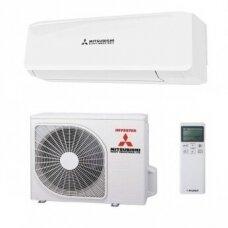 MITSUBISHI MULTI - SPLIT INVERTER lauko blokas su DIAMOND sieniniu oro kondicionieriumi 2 - iems kambariams