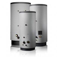 NIBE VPB 750-2 nerūdijančio plieno vandens šildytuvas su gyvatuku