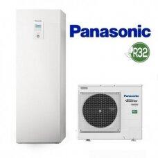 Šilumos siurblys oras/vanduo Panasonic Aquarea WH-ADC0309J3E5 WH-UD05JE5 5 kw su 185 l boileriu