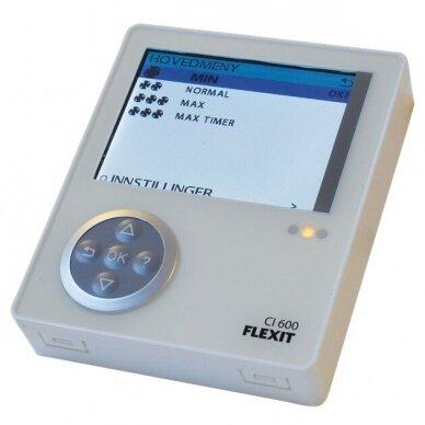 Programuojamas valdymo pultas CI600 Flexit rekuperatoriams 5