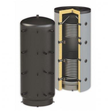 SunSystem PBM-R2 500 akumuliacinė talpa su izoliacija