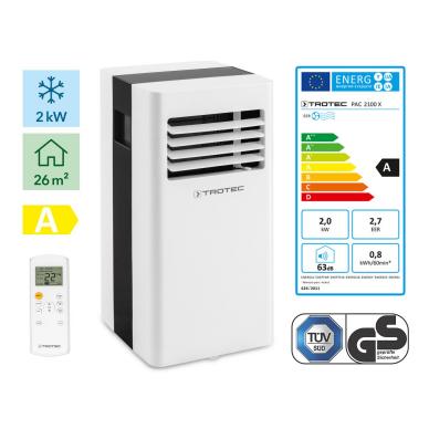 TROTEC PAC 2100 X mobilus oro kondicionierius 3