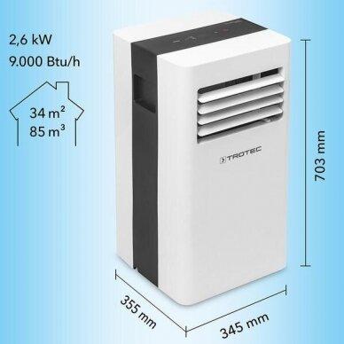 TROTEC PAC 2600 X mobilus oro kondicionierius 5