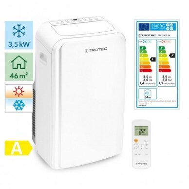TROTEC PAC 3500 SH mobilus oro kondicionierius
