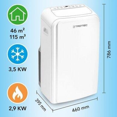 TROTEC PAC 3500 SH mobilus oro kondicionierius 2