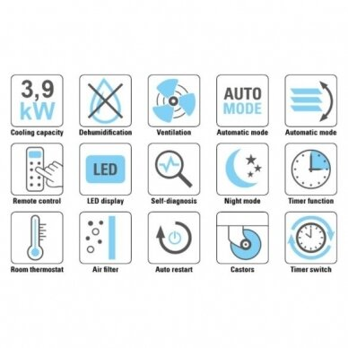 TROTEC PAC 3900 X mobilus oro kondicionierius 10